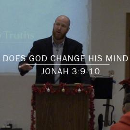 Does God Change His Mind