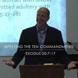 Applying the Ten Commandments: Adultery