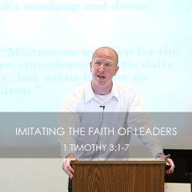 Imitating the Faith of Leaders