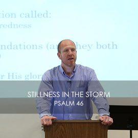 Stillness in the Storm