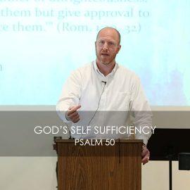 God's Self Sufficiency