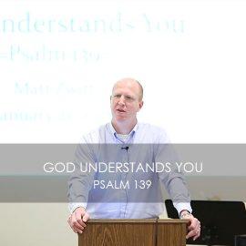 God Understands You