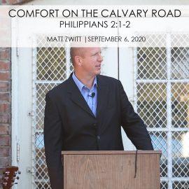 Comfort on the Calvary Road