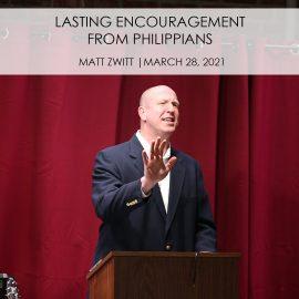 Lasting Encouragement From Philippians