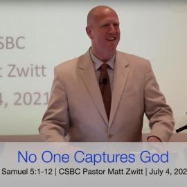 No One Captures God