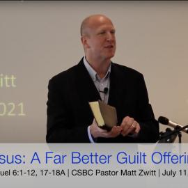 Jesus: A Far Better Guilt Offering
